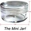The Mini Jar (contains approx. 2 teaspoons)