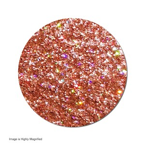 Orbit Orange :Polyester Glitter Cosmetic Holographic (boxed)