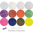 Perfect Palette Glitter Asst: Fine Iridescent (12 colors)